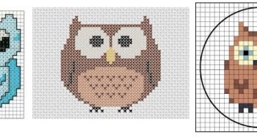 Cross stitch patterns for children