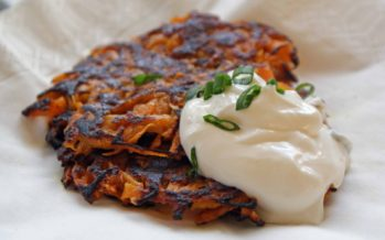 Recipe: Latkes – traditional fried potato pancakes