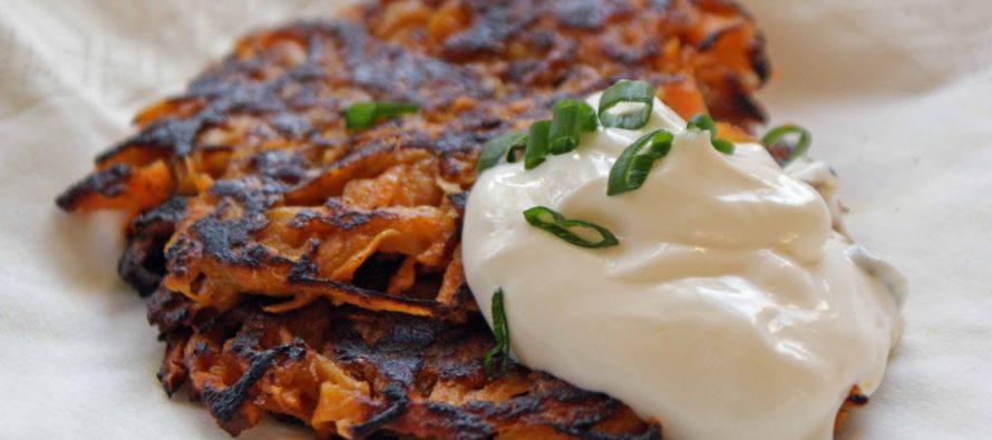 Recipe: Latkes – traditional fried potato pancakes