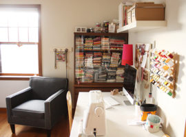 Creative Workspaces: Anna Graham's sewing space