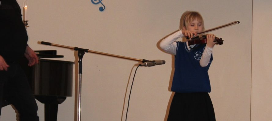 Concert @ Jewish School in Tallinn (March 2014/Adar 5774)