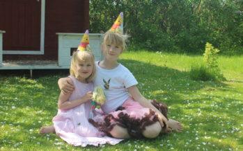 Happy birthday Estella Elisheva and Ivanka Shoshana!