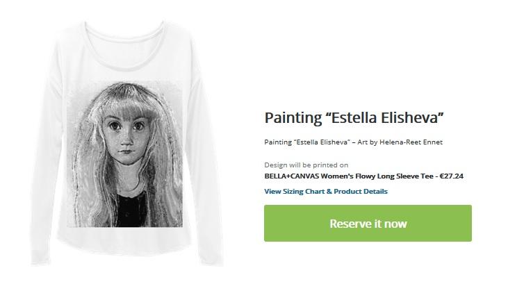 buy it now elisheva art painting pikkade käistega