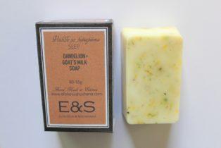 Dandelion + Goat´s Milk soap