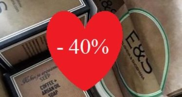 VALENTINE´S DAY giveaways and -40% discount code!