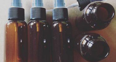 5pcs/lot 50ml Empty refillable spray bottles