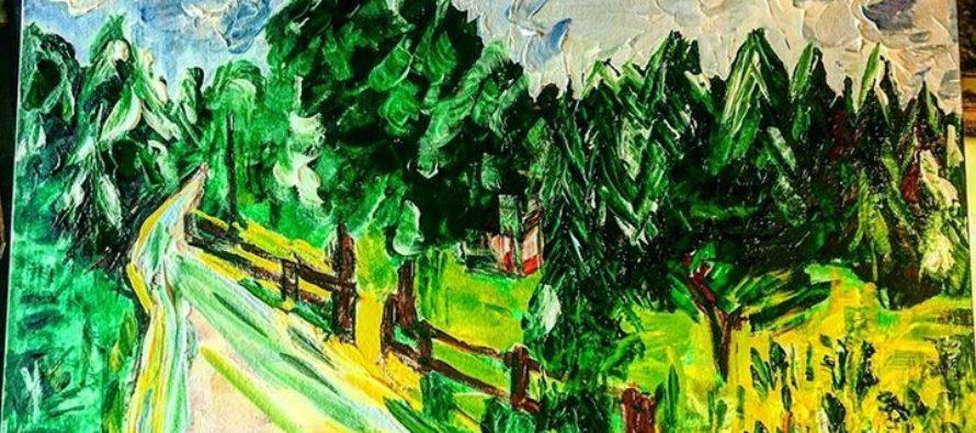 """#2 Paintings by Helena-Reet Ennet: """"Kronoberg"""", May 2019"""