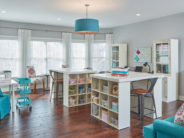 Creative workspaces – Gallery: Clever & Organized Craft Room Ideas