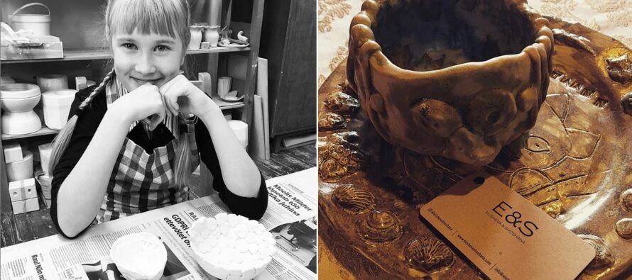 IDEA: Ivanka Shoshana´s art exhibition: Her handmade ceramics + oil paintings