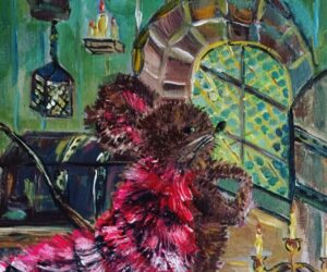 """#18 Paintings by Helena-Reet Ennet: """"His Highness Mouse the First"""" (series – painting nr.3), September 2020"""