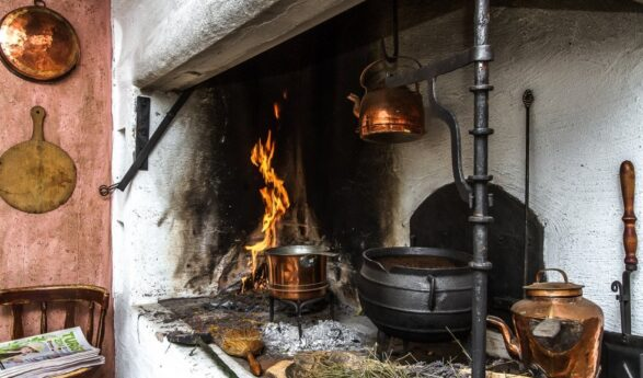 """WE WON Estonian National Museum exposition contest by the stand idea """"Our home-based witch kitchen""""!!!!"""
