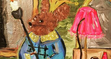 """#19 Paintings by Helena-Reet Ennet: """"His Highness Mouse the First"""" (series – painting nr.4), September 2020"""