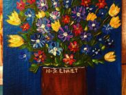 "#29 Paintings by Helena-Reet Ennet: ""Flower bouquet"", November 2020"