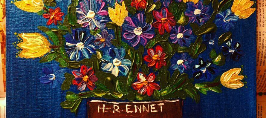 "#29 Paintings by Helena-Reet Ennet: ""Flower bouquet"", November 2020"