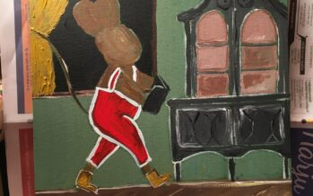 "#27 Paintings by Helena-Reet Ennet: ""His Highness Mouse the First"" (series – painting nr.11), November 2020"