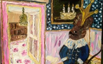 """#22 Paintings by Helena-Reet Ennet: """"His Highness Mouse the First"""" (series – painting nr.7), October 2020"""